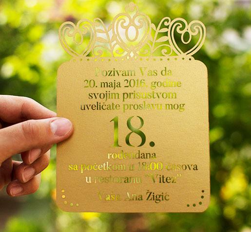 Dizajn Mog Venčanja   Pozivnice za venčanje i rođendane
